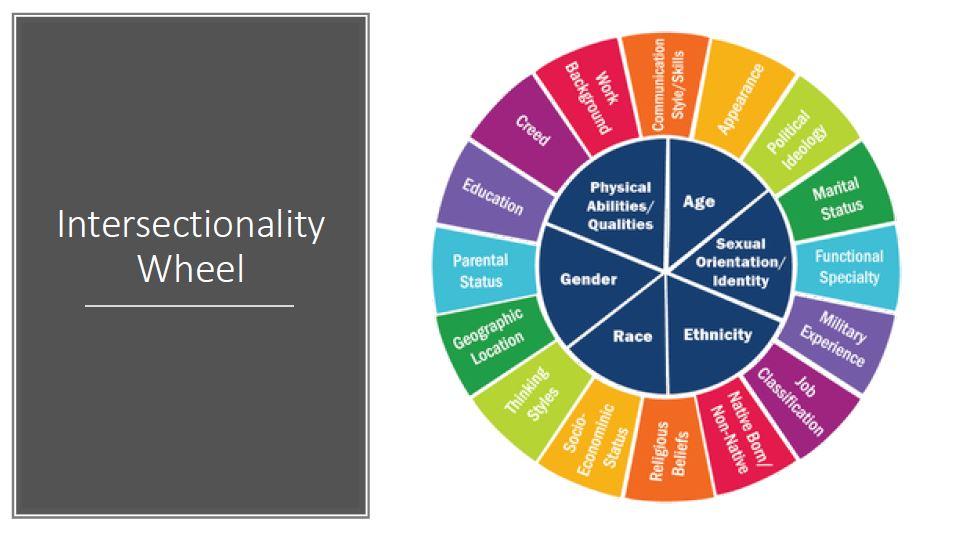 Intersectionality Wheel