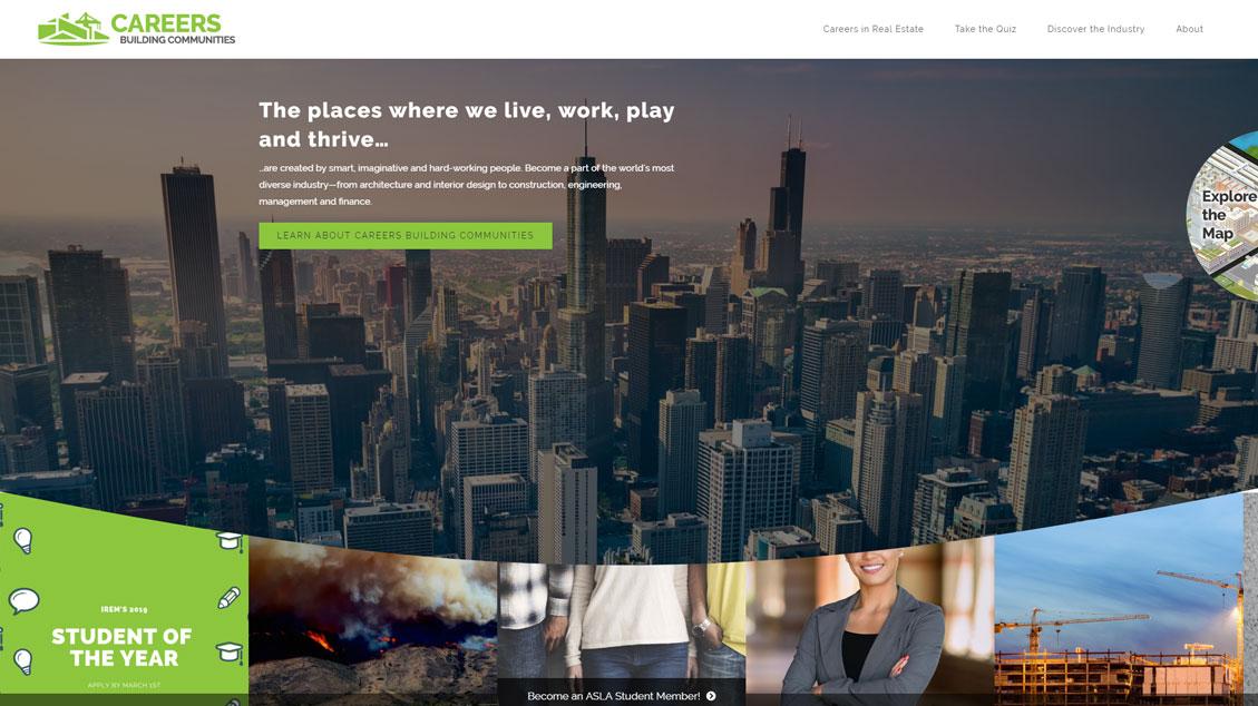 Careers Building Communities Website