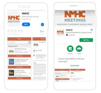 NMHC Meetings Mobile App