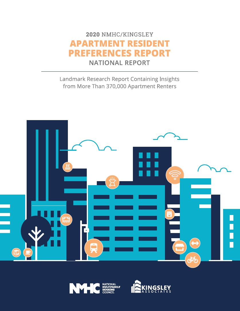 2020 NMHC/ Kingsley Apartment Renter Preferences  Report Cover