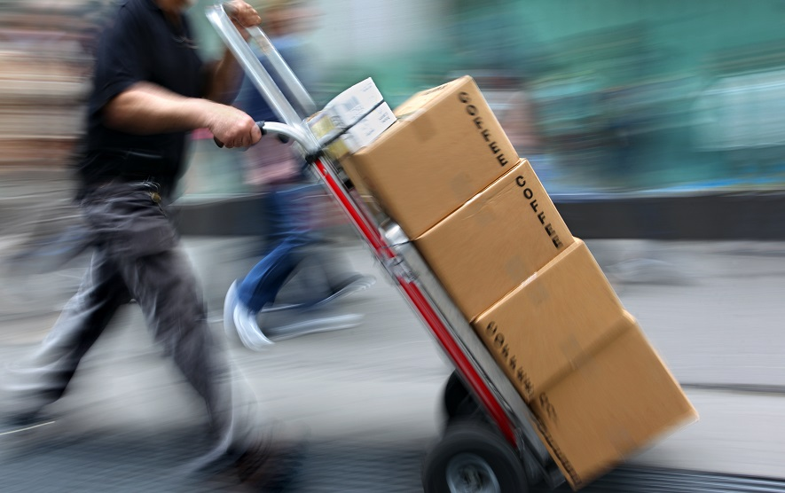 Managing a Rising Tide of Packages Takes on New Urgency as Online ...